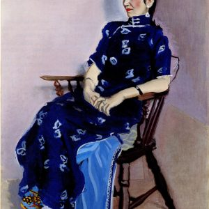 Yasui Sôtarô, Portrait de Chin-Jung, 1934, h. t., 96,5 x 74.5 cm, The National Museum of Modern Art, Tokyo